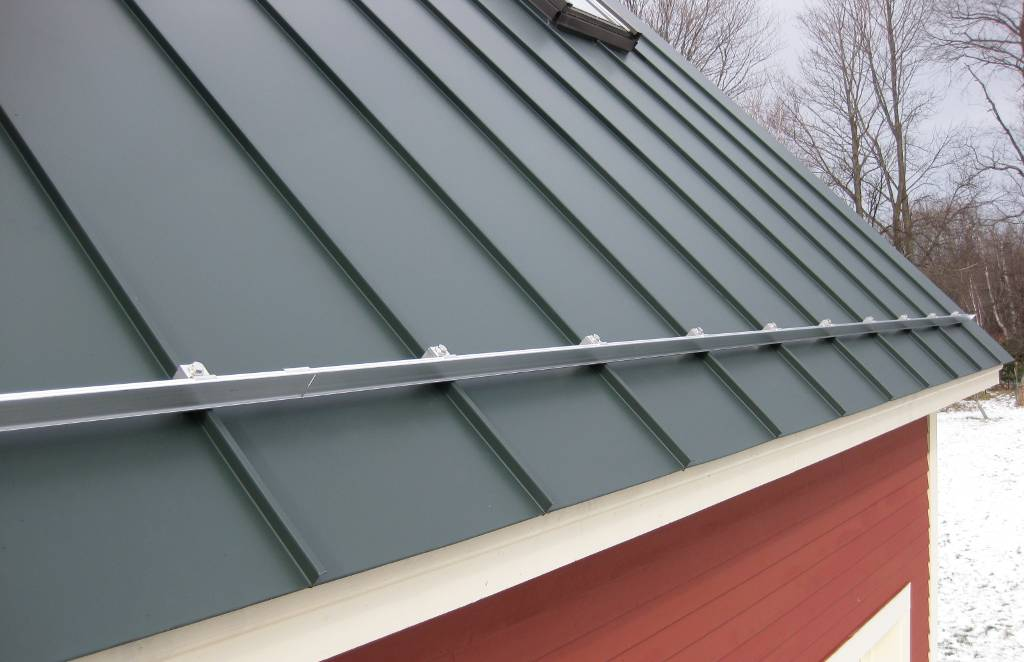 Snow Guards Bronson Johnson Seamless Gutters