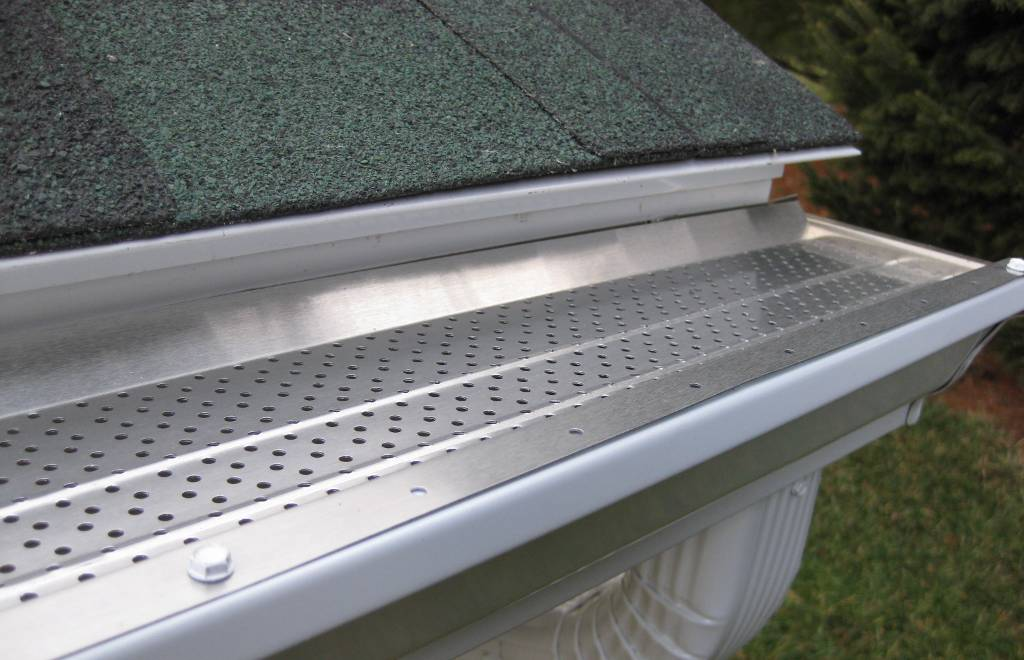 Gutter Covers Bronson Johnson Seamless Gutters
